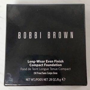 NEW Bobbi Brown Long Wear Compact Foundation beige
